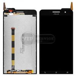 Zenfone 6 дисплей комплект черный