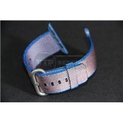 Watch 38mm ремешок из плетёного нейлона, фиолетовый