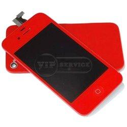 iPhone 4 дисплей, красный