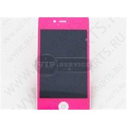 iPhone 4 дисплей, розовый