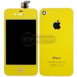 iPhone 4 дисплей, желтый