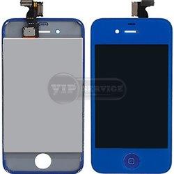 iPhone 4 дисплей, синий