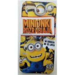 iPhone 5G чехол-накладка Minionki rozrabiaja силиконовый