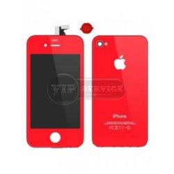 iPhone 3GS cенсор (тачскрин), красный