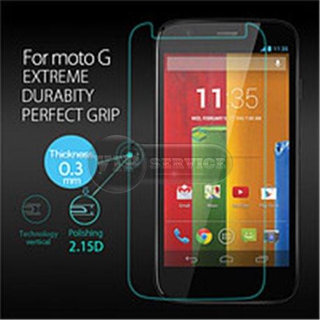 XT1032/XT1033/XT1036 Moto G защитное,противоударное стекло «Бронь» Premium Class