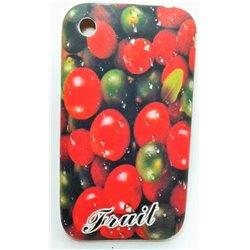 iPhone 3G/3GS чехол-накладка Fruit силиконовый