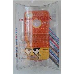 iPhone 4/4S чехол-накладка «Amigo» пластиковый