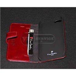 iPhone 5/5S чехол-книжка Pierre Cardin, кожа, красный