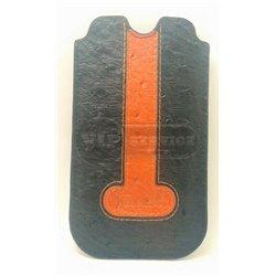IPhone 5/5S чехол-футляр iCarer Genuine Leather Case кожаный, черный