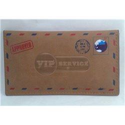 iPhone 5/5S чехол-конверт Swish, кожаный, коричневый