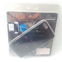 iPhone 5/5S чехол-накладка, «FlashBacks Retro-Camera» пластиковый
