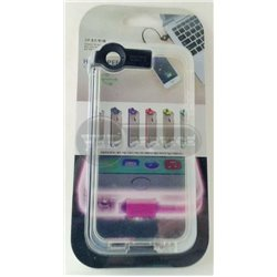 iPhone 5/5S чехол-накладка, «High Speed Charge cable» силиконовый, черный