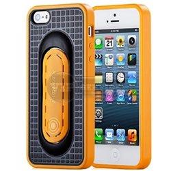 iPhone 5/5S чехол-накладка, «iStand Pro» силиконовый, желтый