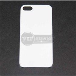 iPhone 5/5S чехол-накладка, пластиковый, белый