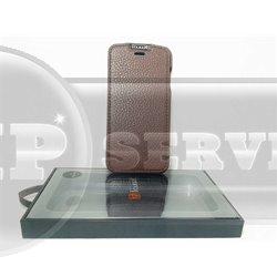 iPhone 6/6S чехол-блокнот iCarer кожаный на магнитной застежке, коричневый