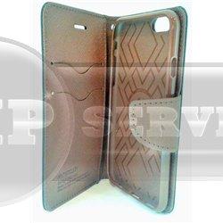 iPhone 6/6S чехол-книжка Mercury со слотом для пластиковых карт, экокожа, силиконовая основа, коричневый
