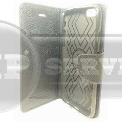 iPhone 6/6S чехол-книжка Mercury со слотом для пластиковых карт,экокожа, силиконовая основа, серый