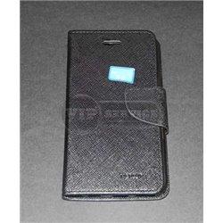 iPhone 6/6S чехол-книжка Mercury, экокожа, черный