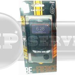 iPhone 6/6S чехол-книжка Momax Be Fierce Sportscarcase сенсорный с окошком, черный