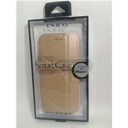 iPhone 6/6S чехол-книжка ONJESS, экокожа+силикон, золотой