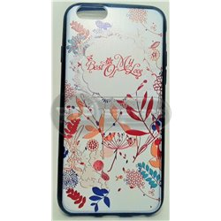 iPhone 6/6S чехол-накладка «Best of my Love», силиконовый, белый фон