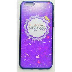 iPhone 6/6S чехол-накладка «Best of my Love», силиконовый, синий фон