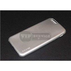 iPhone 6/6S чехол-накладка G-case Fashion, поликарбонат, серебристый