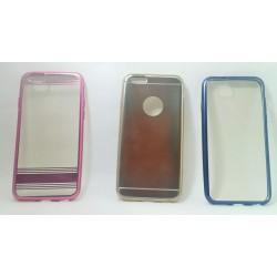 iPhone 6/6S чехол-накладка силиконовый, розовый