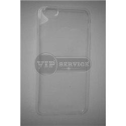 iPhone 6/6S чехол-накладка силиконовый, прозрачный