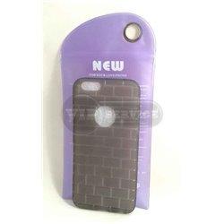 iPhone 6/6S чехол-накладка силиконовый, черный