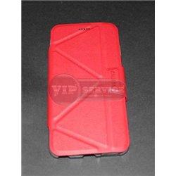 iPhone 6 Plus/6S Plus чехол-книжка ONJESS, экокожа+силикон, красный