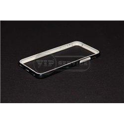 iPhone 6/6S бампер на торцы силиконовый, черный