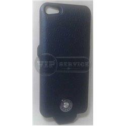 iPhone 5/5S чехол-аккумулятор Gucci A7 2500mAh, темно-синий