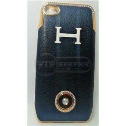 iPhone 4/4S чехол-аккумулятор Q5 1800mAh, темно-синий