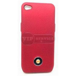 iPhone 5/5S чехол-аккумулятор Q7 1800mAh, красный