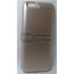чехол-аккумулятор iPhone 6/6S 3000mAh золотой