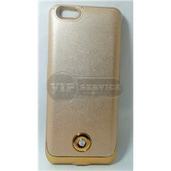 чехол-аккумулятор iPhone 6/6S X2 3800mAh золотой