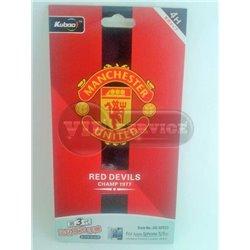 "iPhone 5/5S виниловая наклейка Kubao ""Manchester United"" №5G-SF033"