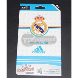 "iPhone 5/5S виниловая наклейка Kubao ""Real Madrid Adidas"""