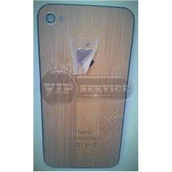 iPhone 4 задняя крышка, бамбук