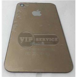 iPhone 4 задняя крышка, светящееся яблоко, золотая