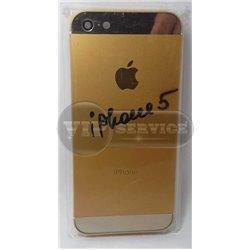 iPhone 5 задняя крышка, темно-золотая