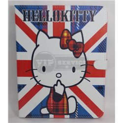 iPad 2/3/4 чехол-книжка Hello Kitty vs Gr.Britain, полиуретан
