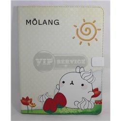 iPad 2/3/4 чехол-книжка Molang, полиуретан