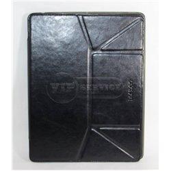 IPad 2/3/4 чехол-книжка Bohobo, экокожа, силиконовая основа, черный