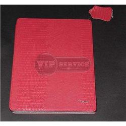 iPad 2/3/4 чехол-книжка Incase, кожаный, красный