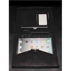 iPad 2/3/4 чехол-книжка iCoat OZAKI, кожаный, черный