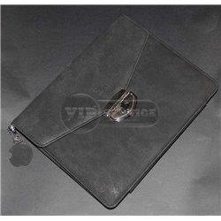 iPad 2/3/4 чехол-книжка Bloc BAOLONG, кожаный, черный