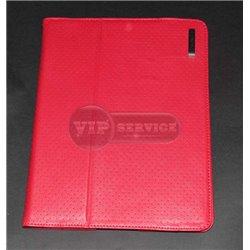 iPad 2/3/4 чехол-книжка Capdase, кожа, красный