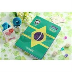 iPad Air чехол-книжка Brazil 2014 Fire World cup